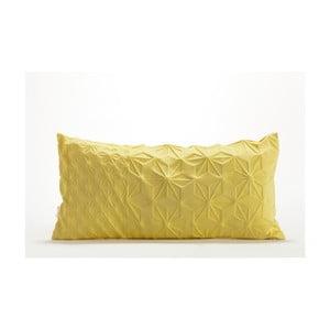 Złota poszewka na poduszkę Mikabarr Amit, 60x30 cm