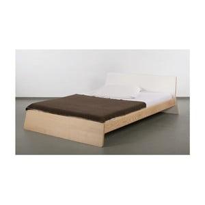 Łóżko z drewna jesionowego Ellenberger design Private Space,140x200cm