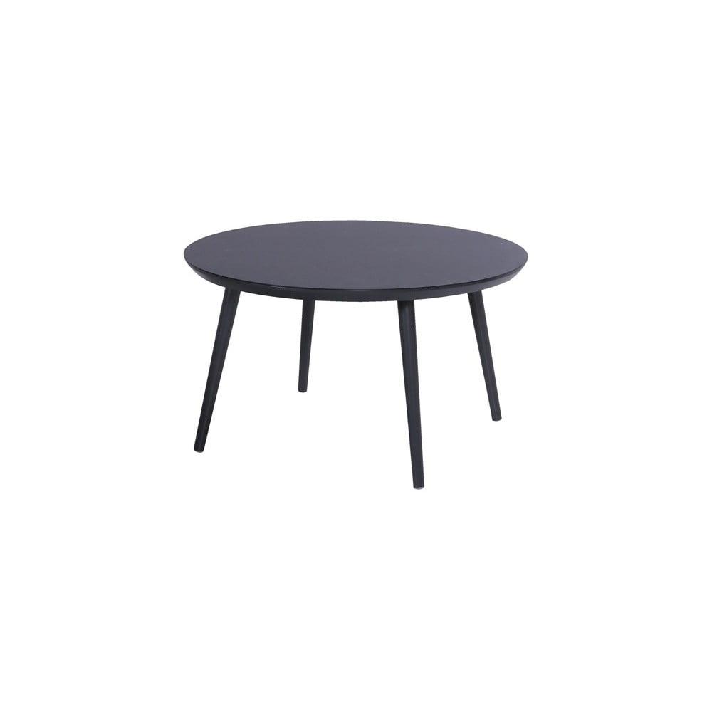 Czarny stół ogrodowy Hartman Sophie Studio, ø 128 cm