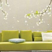 Naklejka Ambiance Pear Tree With Flowers