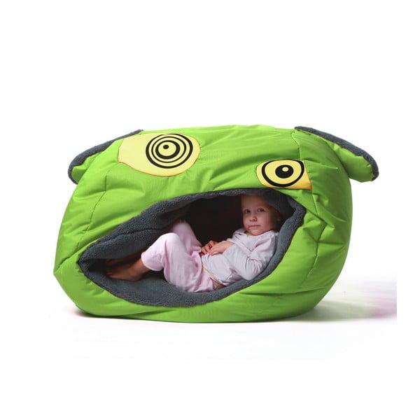 Zielony worek do siedzenia dla dzieci Tuli Obludöö