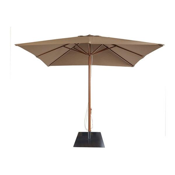 Brązowy parasol ogrodowy Resol AM1