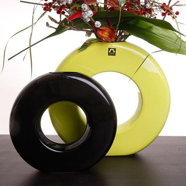 Wazon Seina 28 cm, czarny