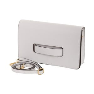 Biała torebka skórzana Andrea Cardone
