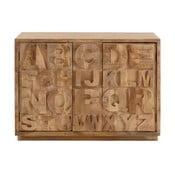 Szafka 2-drzwiowa z 4 szufladami 13Casa Words
