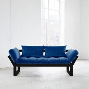 Wielofunkcyjna sofa Karup Edge Black/Velvet Navy