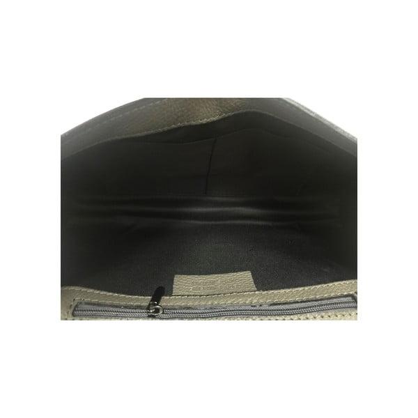 Skórzana kopertówka Naja Grey