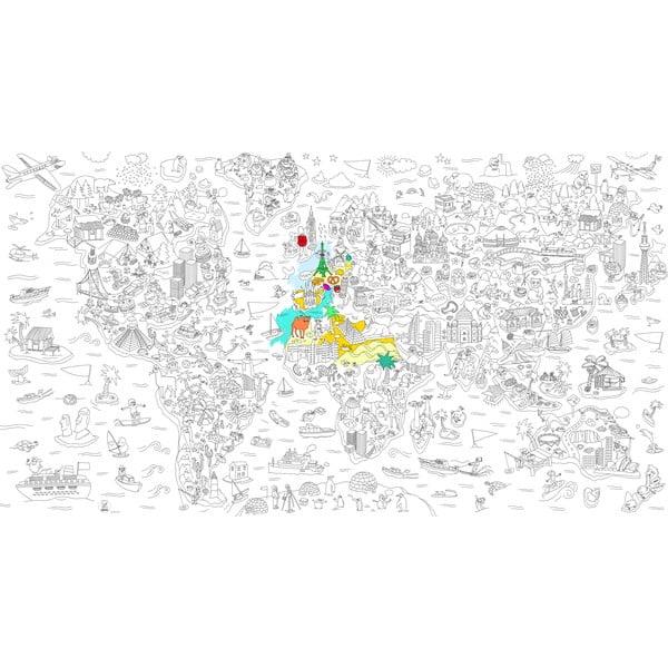 Kolorowanka Atlas, XXL