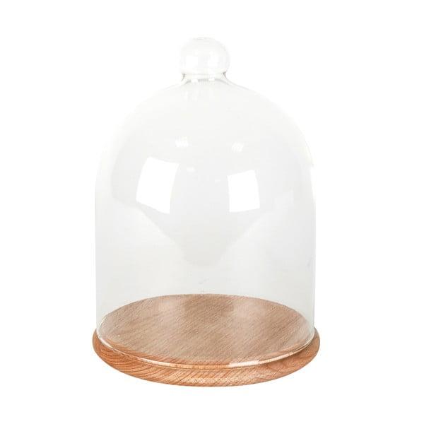 Taca ze szklanym kloszem ComingB Cloche, 15 cm