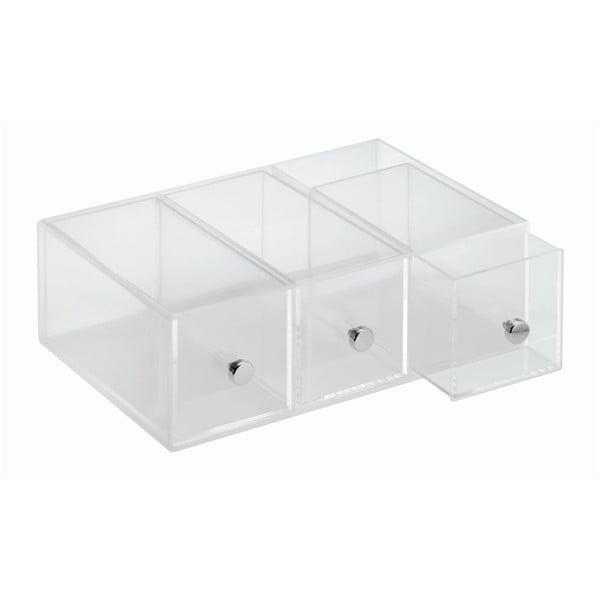 Organizer 3 Drawer Flip, 9x18 cm