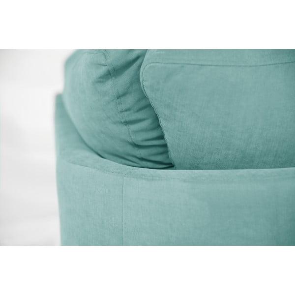 Sofa narożna Jalouse Maison Irina, prawy róg, miętowy