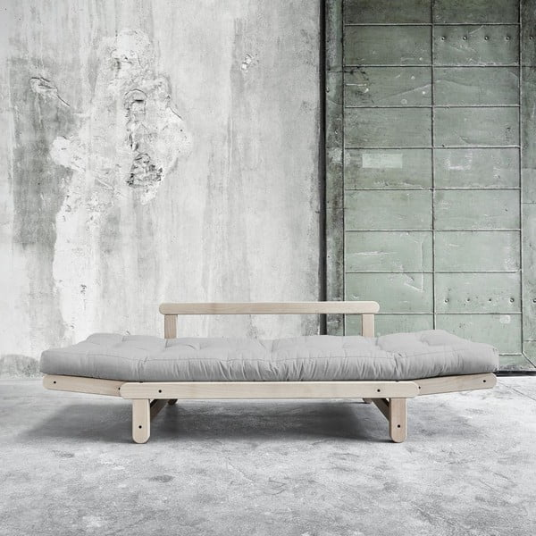 Sofa rozkładana Beat Beech/Light Grey