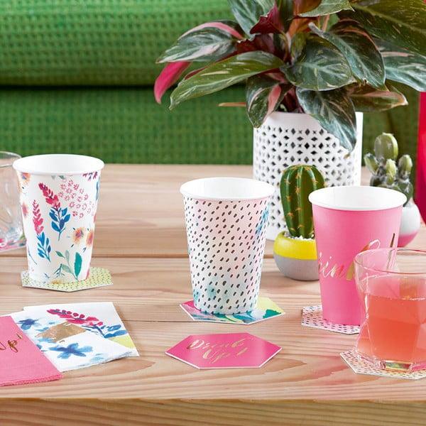 Zestaw 12 kubeczków papierowych Talking Tables Fantastic Summer