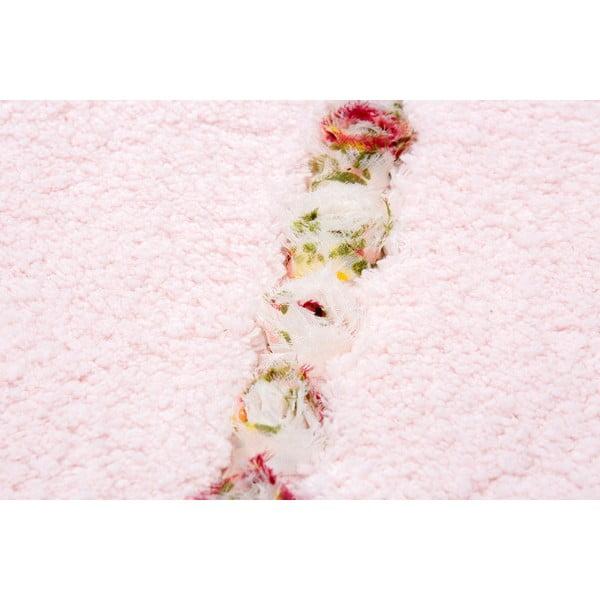 Dywanik łazienkowy Frenésie Pink, 65x110 cm