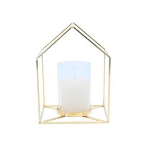 Złoty świecznik Present Time House