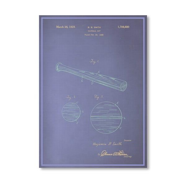 Plakat Baseball Bat, 30x42 cm