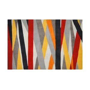 Wełniany dywan Linear, 121x182 cm