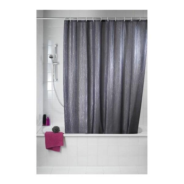 Zasłona prysznicowa Deluxe, szara