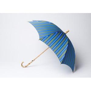 Parasol Stripe, niebieski-zielony