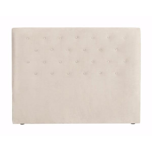 Kremowy zagłówek łóżka Windsor & Co Sofas Astro, 160x120 cm