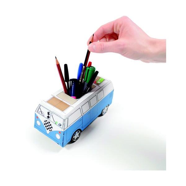 Składany autobus na długopisy