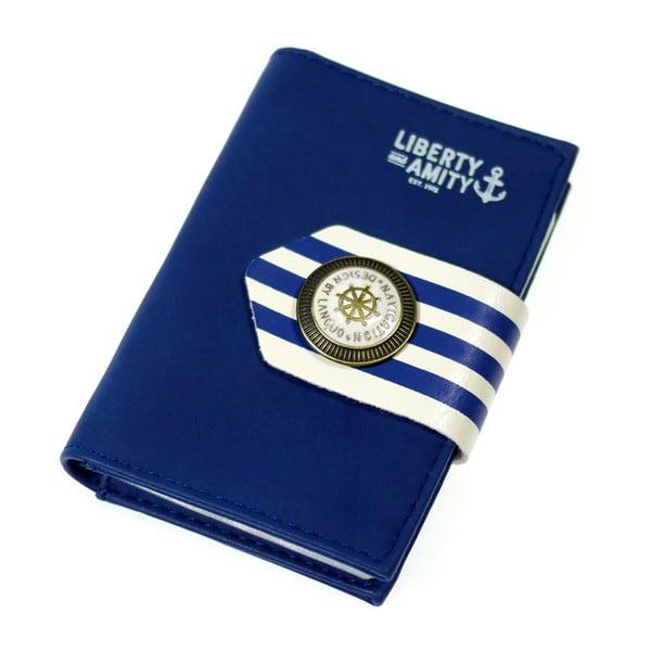 Etui na dokumenty Navy, niebieskie