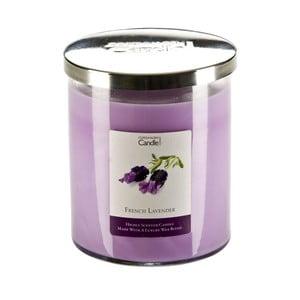 Świeczka zapachowa o zapachu lawendy Copenhagen Candles French, czas palenia 70 godz.