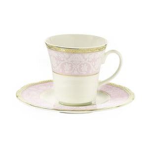 Zestaw 6 filiżanek porcelanowych ze spodkami Kutahya Paper, 50 ml