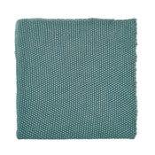 Koc Moss 130x180 cm, niebieski