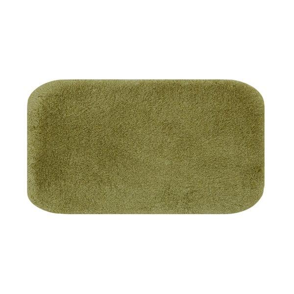 Zielony dywanik łazienkowy Confetti Bathmats Miami, 80x140 cm