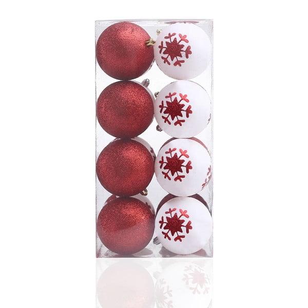 Zestaw 16 bombek DecoKing Cherry