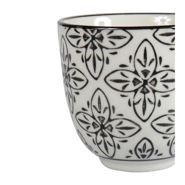 Zestaw 4 porcelanowych kubków Zellige