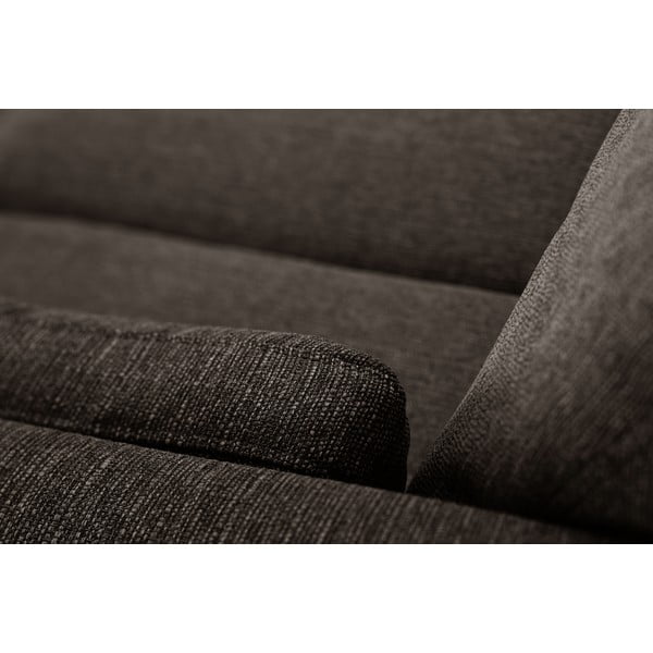 Kasztanowa sofa trzyosobowa Jalouse Maison Elisa