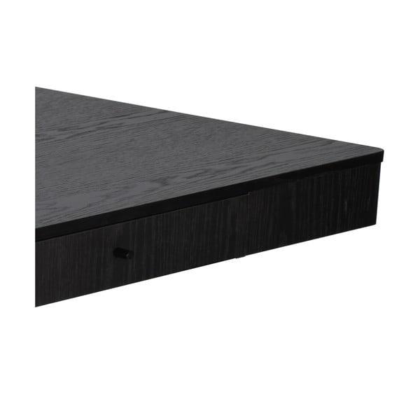 Stolik Niles 85x85 cm, czarny