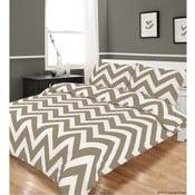 Pościel Zigzag Grey, 230x220 cm