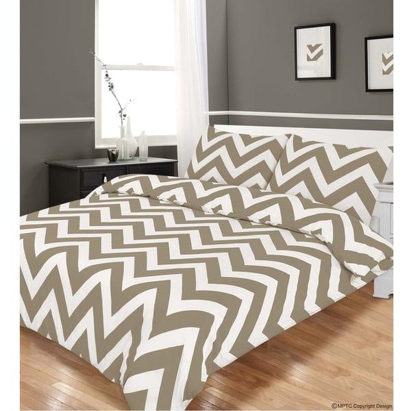 Pościel Zigzag Grey, 200x200 cm