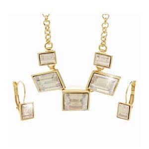 Komplet naszyjnika i kolczyków z kryształami Swarovskiego® Yasmine Agnete