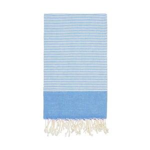 Ręcznik hammam Side Blue, 100x180 cm