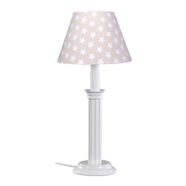 Lampa stołowa Beige Asterisk