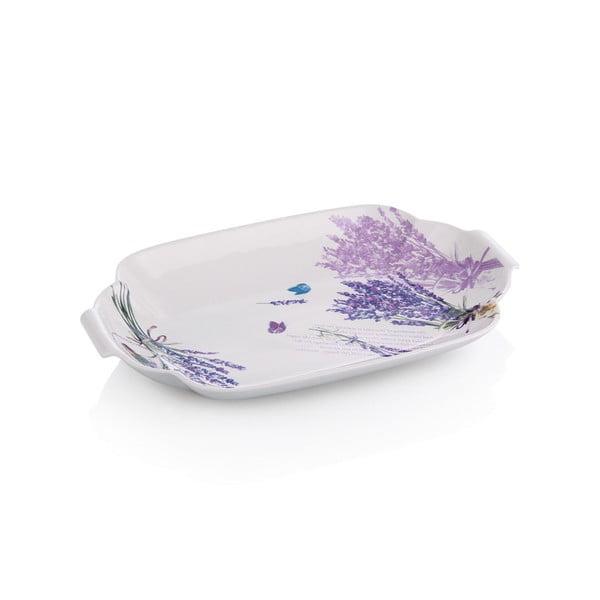 Porcelanowy talerz Lawenda, 29 cm
