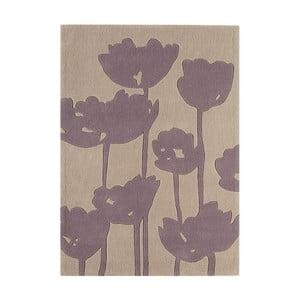 Jasnoszary dywan Asiatic Carpets Harlequin Florist, 170x120 cm