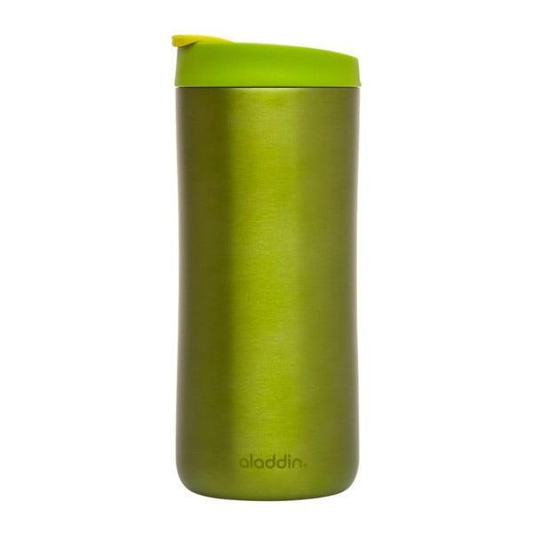 Nierdzewny kubek termiczny Flip Seal 350 ml, zielony