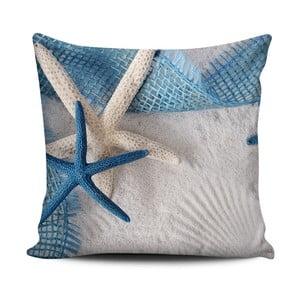 Poduszka Home de Bleu Tropical Starfishs, 43x43cm