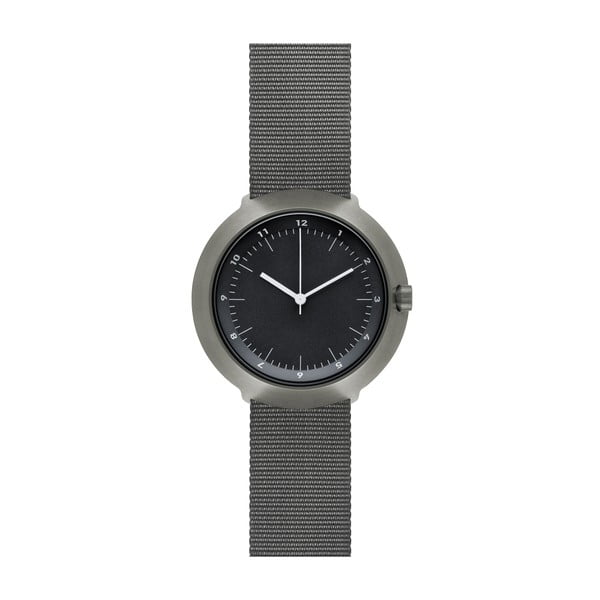 Zegarek Black Fuji Grey Nylon, 43 mm
