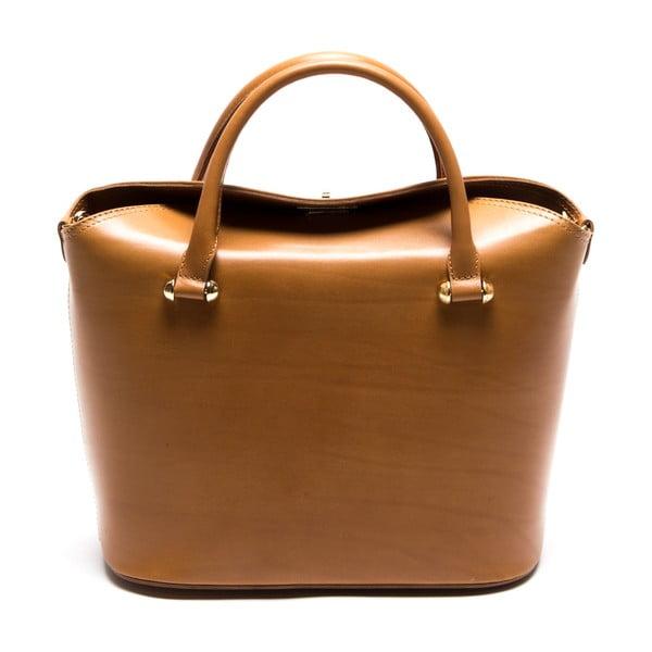 Skórzana torebka Isabella Rhea 396 Cognac
