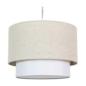 Lampa sufitowa Rumba, kremowa