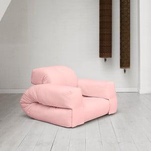 Fotel rozkładany Karup Hippo Pink Peonie