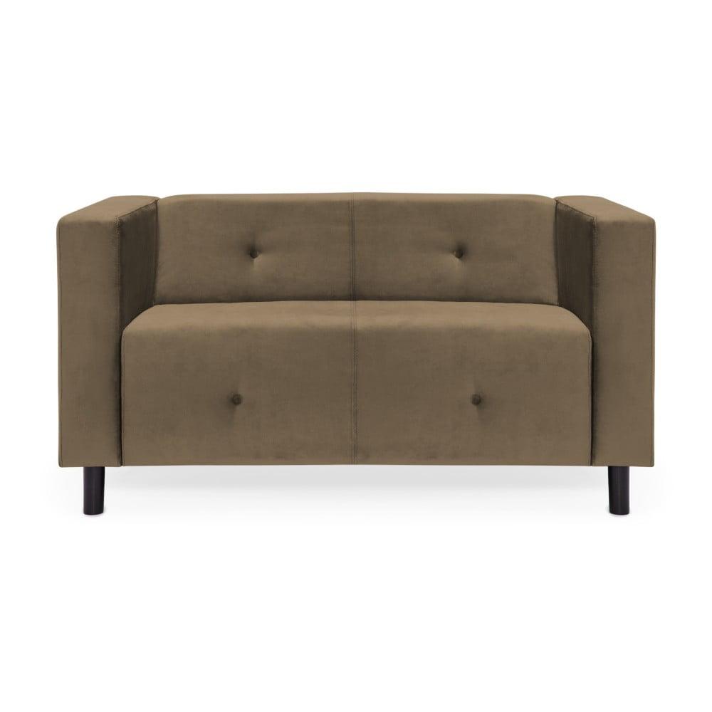 Jasnobrązowa sofa 2-osobowa Vivonita Milo