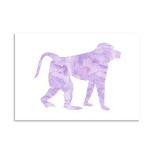 Plakat Americanflat Monkey, 30x42 cm
