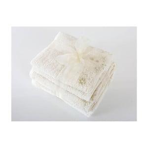 Komplet 4 ręczników z bawełny premium New